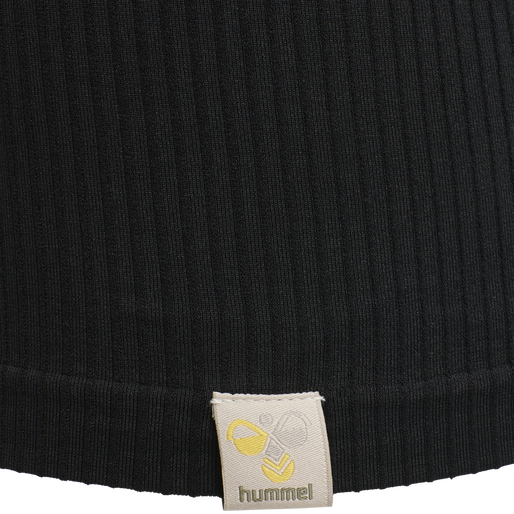 hmlALTONA SEAMLESS TOP, BLACK, packshot