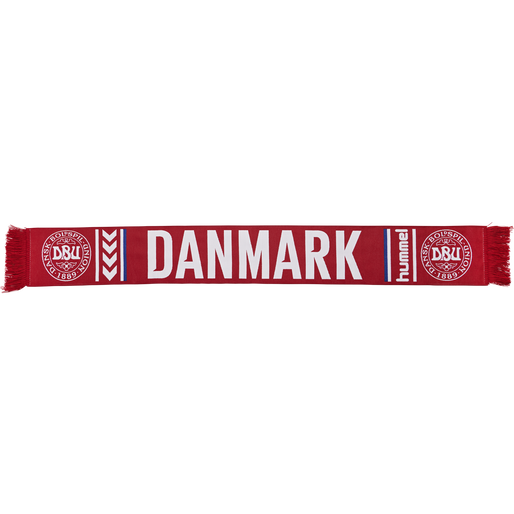 DBU FAN HEAVY SCARF, TANGO RED/WHITE, packshot