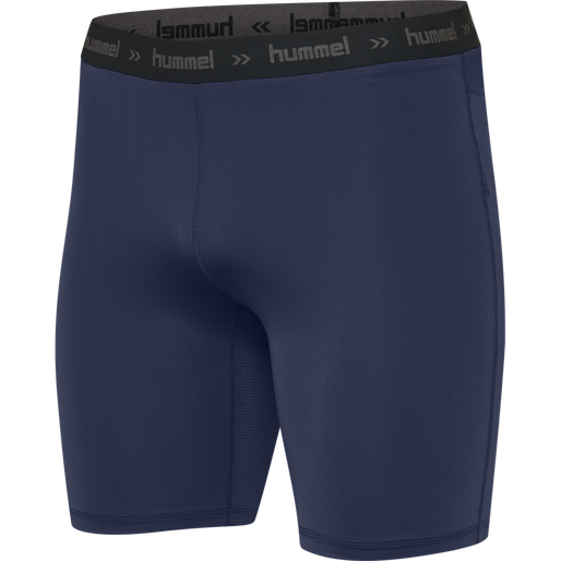 HUMMEL FIRST PERFORMANCE KIDS TIGHT SHORTS, MARINE, packshot