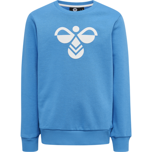 hmlNOAH SWEATSHIRT, SUMMER BLUE, packshot
