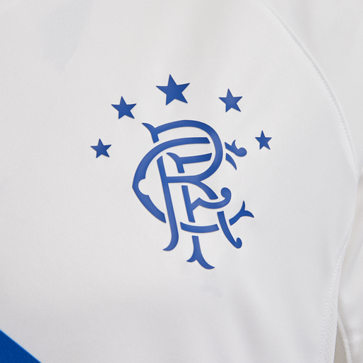 RANGERS FC AWAY 18/19 JERSEY S/S, WHITE/BLUE/RED, packshot