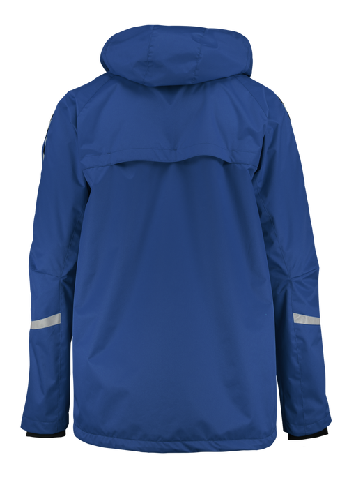 AUTH. CHARGE ALL-WEATHER JACKET, TRUE BLUE/BLACK, packshot