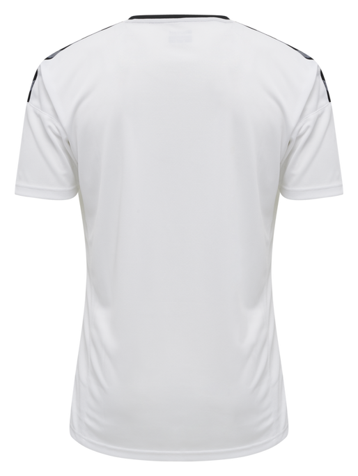 hmlAUTHENTIC POLY JERSEY S/S, WHITE, packshot