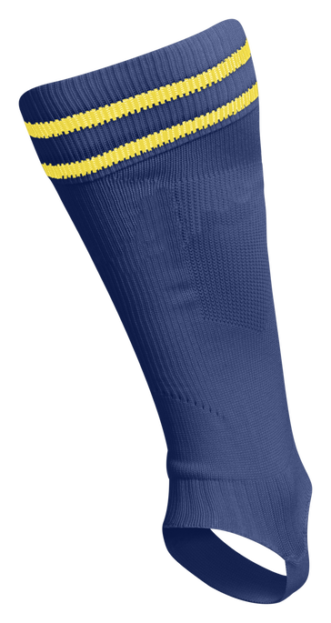 ELEMENT FOOTBALL SOCK FOOTLESS, TRUE BLUE/SPORTS YELLOW, packshot