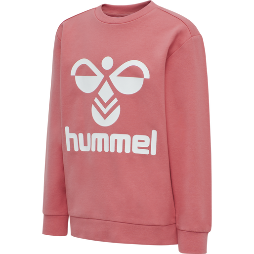 HMLDOS SWEATSHIRT, TEA ROSE, packshot