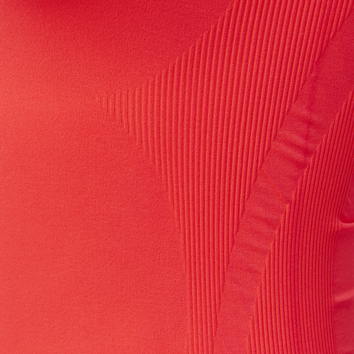 SUE SEAMLESS TOP, FIERY CORAL, packshot