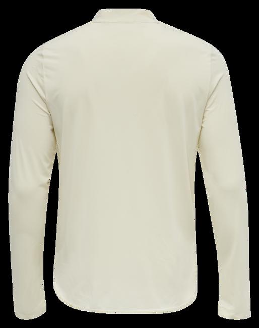 hmlMARLEY T-SHIRT L/S, BONE WHITE, packshot