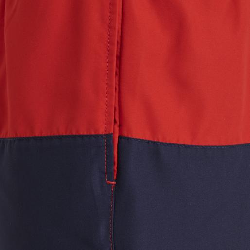 hmlZANE BOARD SHORTS, HIGH RISK RED, packshot