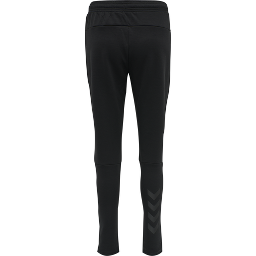 hmlESSI TAPERED PANTS, BLACK, packshot