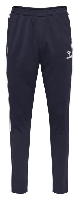 hmlARNE TAPERED PANTS, BLACK IRIS, packshot