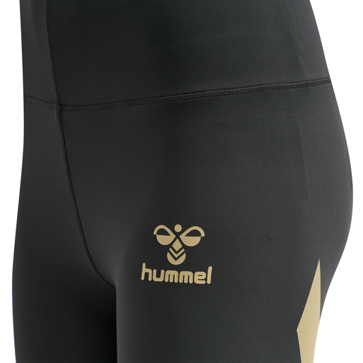 hmlPARIS HIGH WAIST TIGHTS, MAGNET, packshot