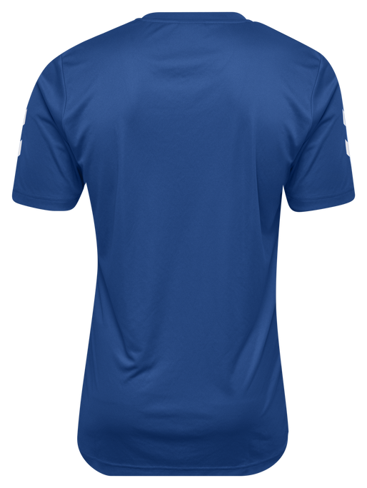 CORE POLYESTER TEE, TRUE BLUE, packshot