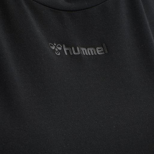 hmlREESE T-SHIRT, BLACK, packshot