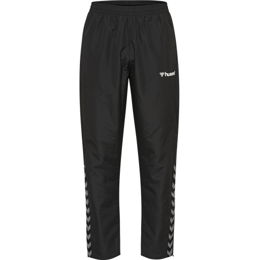 hmlAUTHENTIC MICRO PANT, BLACK/WHITE, packshot