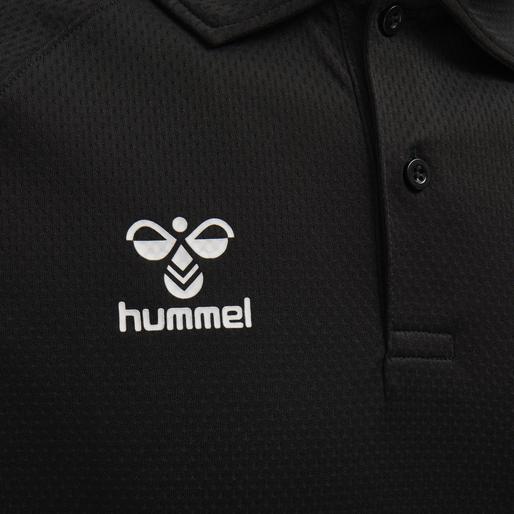 hmlLEAD FUNCTIONAL POLO, BLACK, packshot