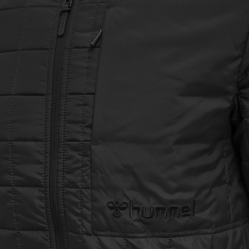 hmlLUKE JACKET, BLACK, packshot