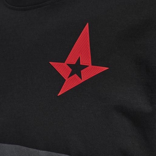 ASTRALIS T-SHIRT S/S, BLACK, packshot