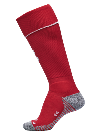 PRO FOOTBALL SOCK, TRUE RED/WHITE, packshot