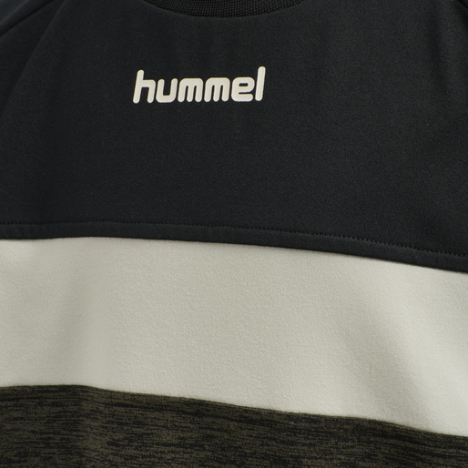 hmlBRANDON SWEATSHIRT, BLACK OLIVE, packshot
