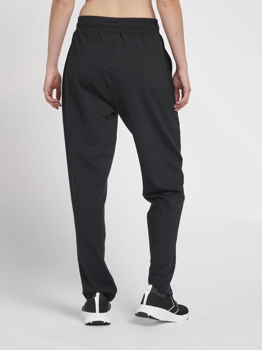 hmlLUISE LOOSE PANTS, BLACK, model