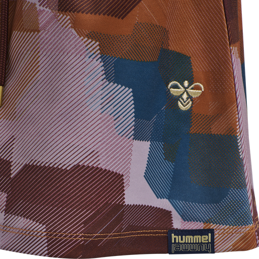 hmlBELISH SKIRT, BOMBAY BROWN, packshot