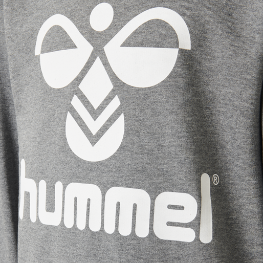 HMLDOS SWEATSHIRT, MEDIUM MELANGE, packshot