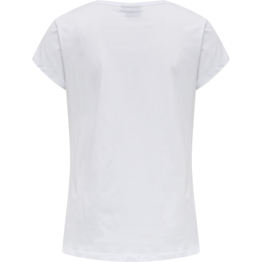hmlSPRING T-SHIRT, WHITE, packshot