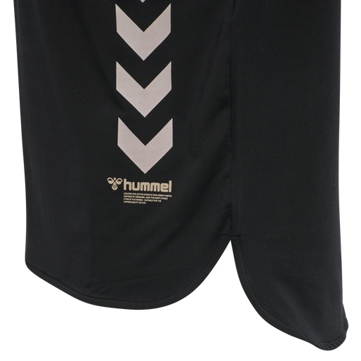hmlMARLEY T-SHIRT, BLACK, packshot