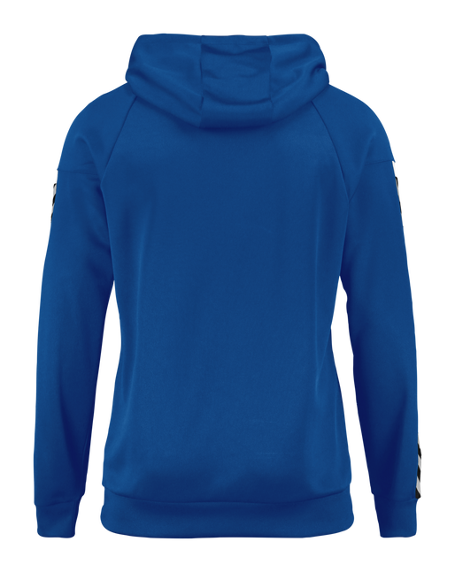 AUTH. CHARGE POLY HOODIE, TRUE BLUE, packshot