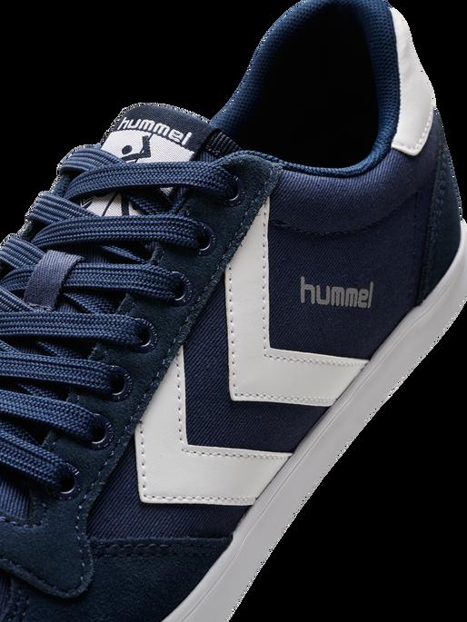 HUMMEL SLIMMER STADIL LOW, DRESS BLUE/WHITE KH, packshot