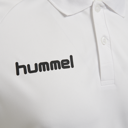 hmlPROMO KIDS POLO, WHITE, packshot