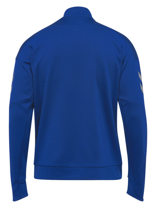 TECH MOVE KIDS POLY ZIP JACKET, TRUE BLUE, packshot
