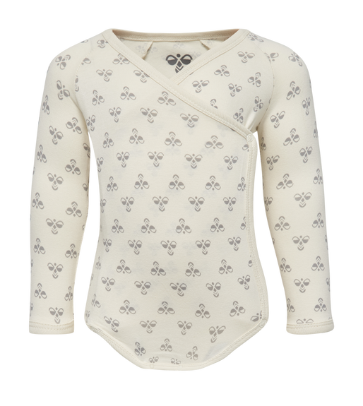 HMLBABY BEE BODY L/S, BIRCH, packshot