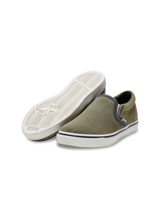 SLIP-ON JR , DEEP LICHEN GREEN, packshot