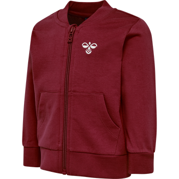 hmlJUNO ZIP JACKET, RIO RED, packshot
