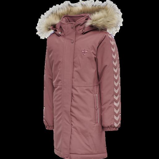 hmlLEAF COAT, ROAN ROUGE, packshot