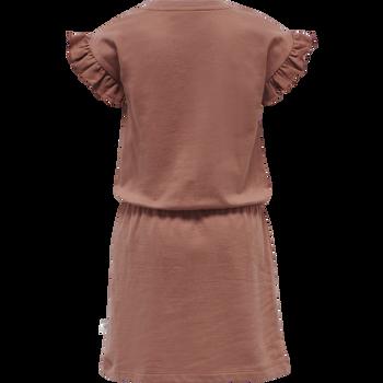 hmlPACIFIC DRESS S/S, CEDAR WOOD, packshot