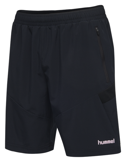 TECH MOVE KIDS TRAINING SHORTS, BLACK, packshot