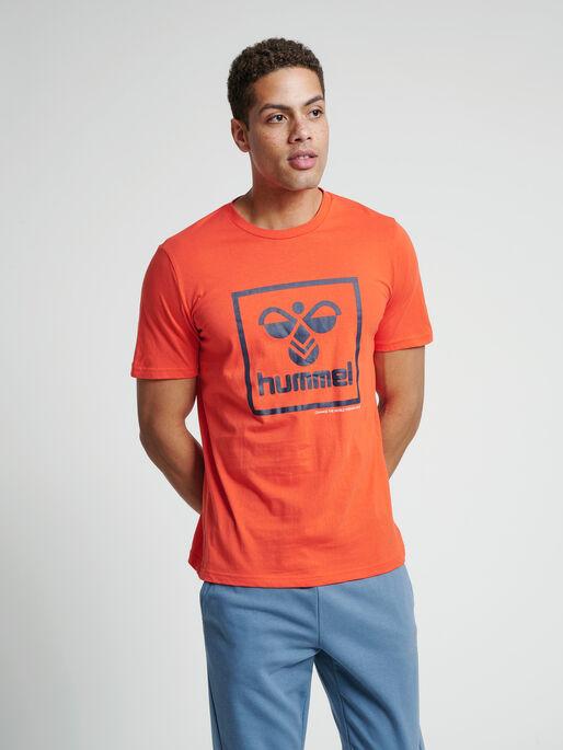 hmlISAM T-SHIRT, FIESTA, model