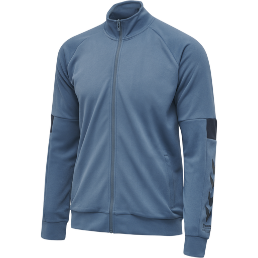 hmlALEC ZIP JACKET, CHINA BLUE, packshot