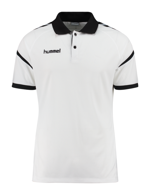 AUTH. CHARGE FUNCTIONAL POLO, WHITE, packshot