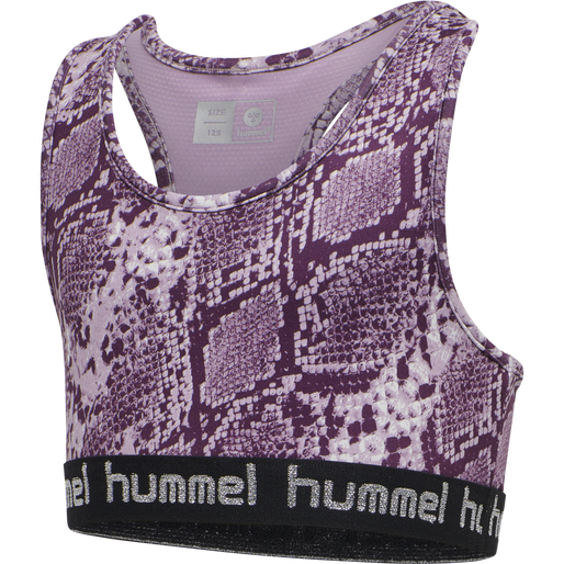 hmlMIMMI SPORTS TOP, MAUVE SHADOW, packshot