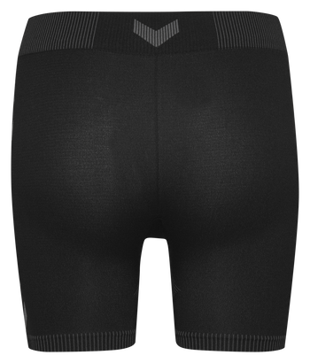 HUMMEL FIRST SEAMLESS SHORT TIGHTS WOMEN, BLACK, packshot