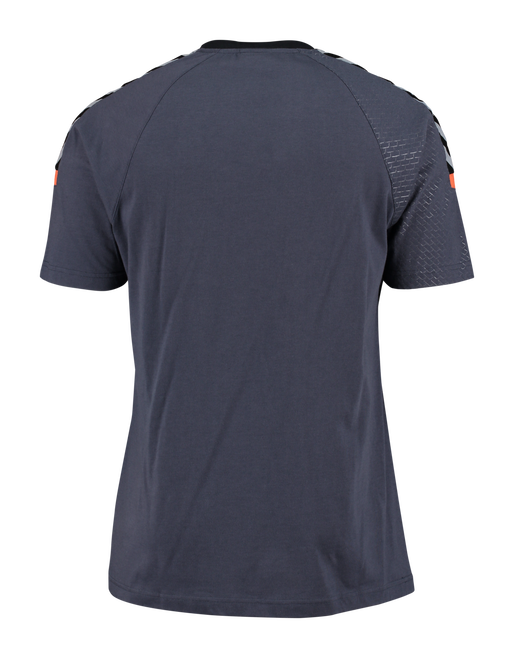 AUTHENTIC CHARGE SS TRAINING JERSEY, OMBRE BLUE/NASTURTIUM, packshot