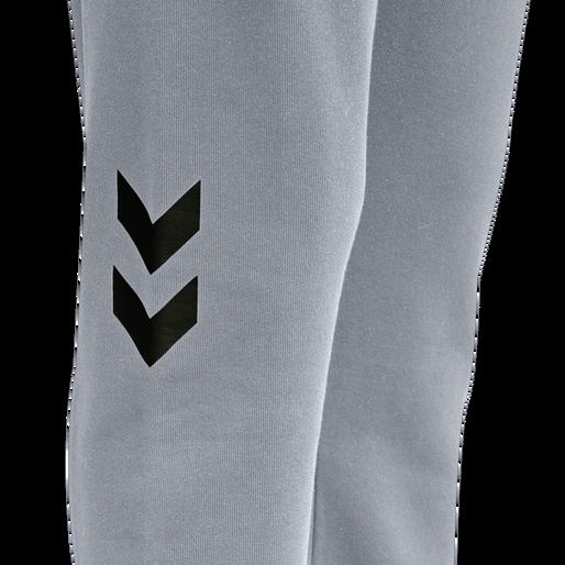 hmlLGC ALULA REGULAR PANTS, GREY MELANGE, packshot