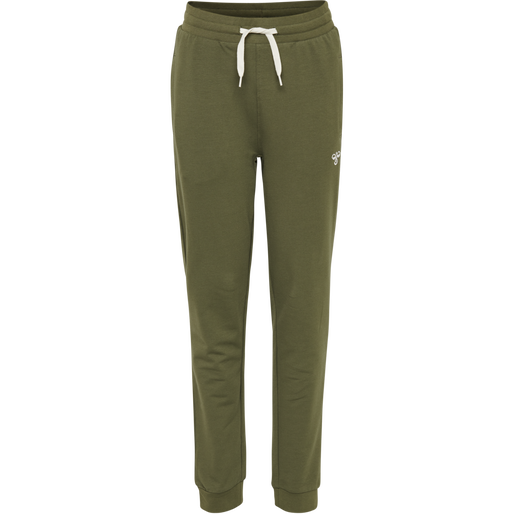 hmlPLESS PANTS, IVY GREEN, packshot