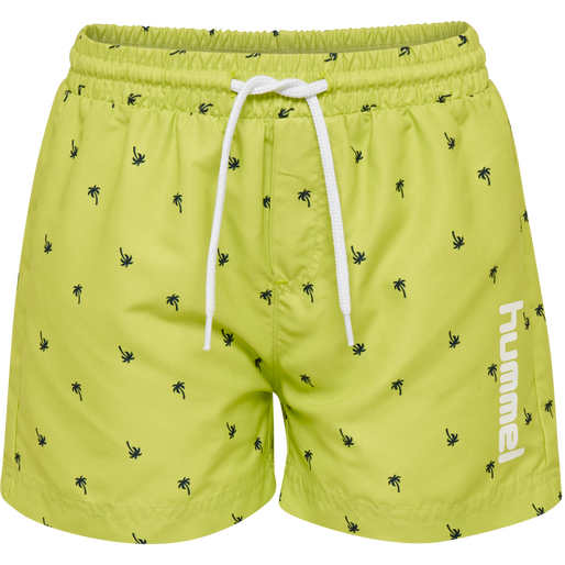 hmlCHILL BOARD SHORTS, GREEN GLOW, packshot