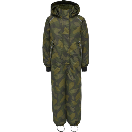 hmlARCTIC SNOWSUIT, OLIVE NIGHT/ ECRU OLIVE, packshot