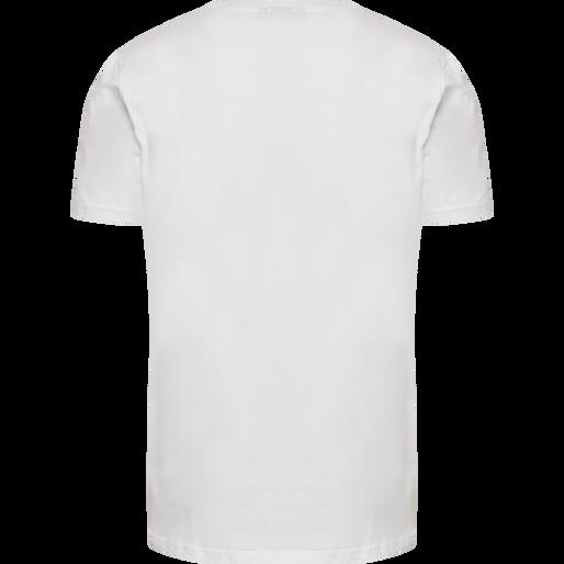 hmlSIGGE T-SHIRT S/S, WHITE, packshot