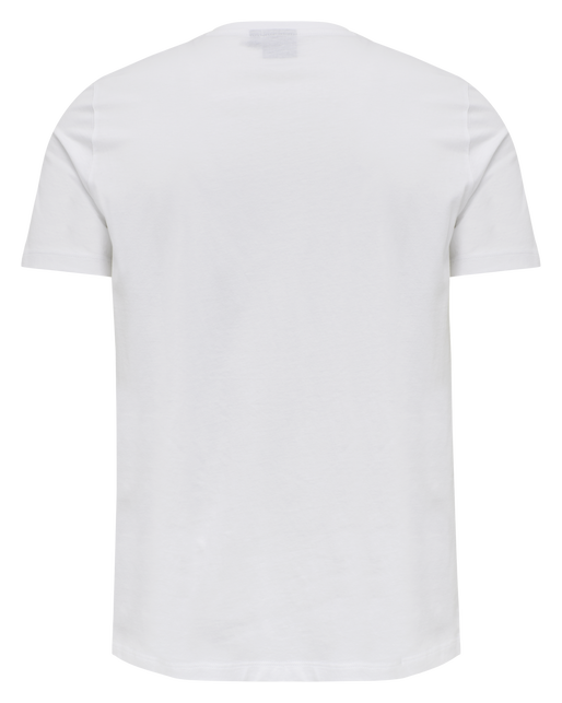 hmlPETER T-SHIRT S/S, WHITE, packshot